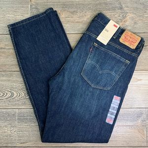 Levi's 569 Loose Straight Fit Dark Wash Jeans NWT!